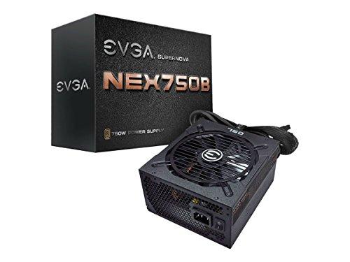 EVGA Supernova 750 B1, 80+ Bronze 750W, Semi Modular, 5 Year Warranty, Includes Free Power On...