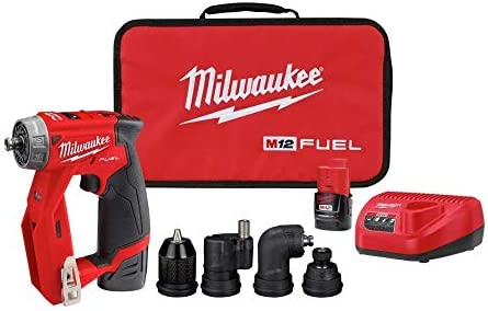 Milwaukee 2505 22 M12 Fuel Installation Drill Driver Kit product image