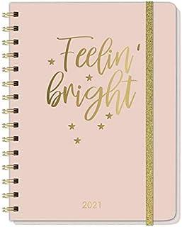 Gold Spiral-Kalenderbuch A5 Kalender 2021