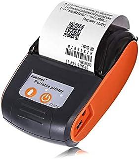 DZSF 58 mm bärbar mobil Bluetooth-skrivare trådlös Bluetooth mini termiskt mottagande skrivare stöd Android Ios telefon