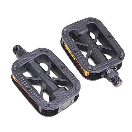 Sharplace Pedales de Bicicleta de 9/16'Antideslizantes Pedal de Plataforma para Ciclismo Piezas a Prueba de Polvo