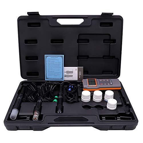PLEASUR Testeur de qualité de l'eau, multifonction TDS, compteur EC et température Idéal pour mesurer l'eau potable, les aquariums, etc.