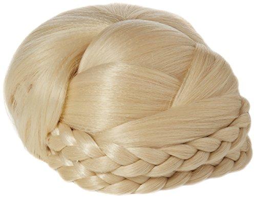 BiYa Hair Elements Extensions capillaires Chignon de mariage style Julie couleur, blond clair Numéro 613