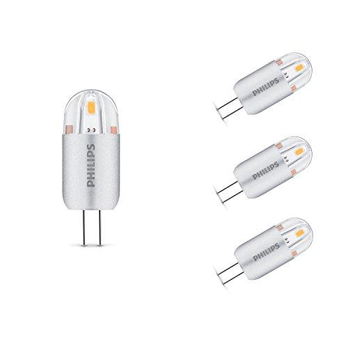 Philips 8718696422304GU41,2W LED 3000K Kapsel nicht dimmbar Leuchtmittel, weiß, glas, weiß, G4, 1.2 wattsW