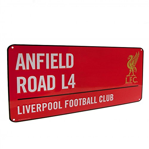 Liverpool Farbe Straßenschild–Mehrfarbig