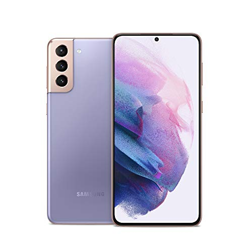 Samsung Galaxy S21+ Plus 5G | Factory Unlocked Android Cell Phone | US Version 5G Smartphone | Pro-Grade Camera, 8K Video, 64MP High Res | 128GB, Phantom Violet (SM-G996UZVAXAA). Buy it now for 799.99