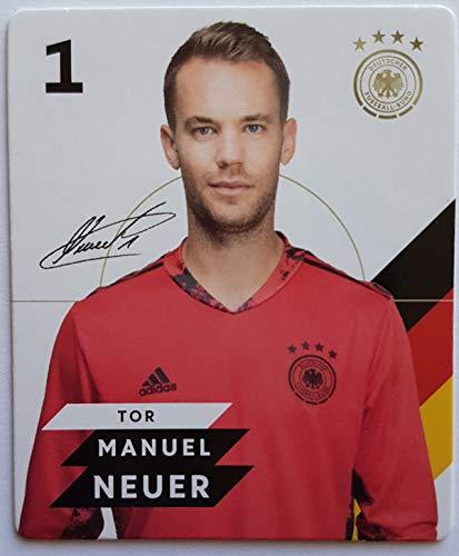 Rewe EM 2020 DFB - Sammelkarten - Normale - Nr. 1 Manuel Neuer - Plus 1 spezielle toysagent Sonderkarte