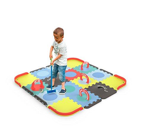 Tatamiz - Cricket Set tapijt - EVA schuim puzzel - 39 platen - 2 rubberen verdiepingen - vanaf 3 jaar - D'arpèje - TTMZ106