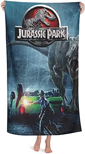Jurassic Park - Toalla de playa para niños, diseño de dinosaurio