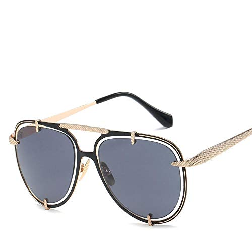 Gafas de Sol Sunglasses Gafas De Sol Hombres Mujeres Envoltura De Metal Anteojos Piloto Sombras Diseñador De La Marca Gafas De Sol Espejo Uv400 1