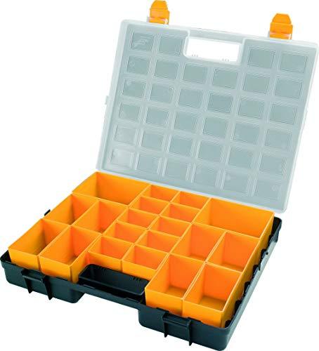 Kunststoff-Sortierkasten mit 20 herausnehmbaren Einsätzen