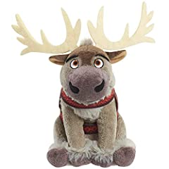 Embark on your own adventure with the Disney Frozen 2 Talking Small Plush Sven. Collect all the Disney Frozen 2 Talking Small Plush characters including: Anna in her travel fashion, Elsa in her travel fashion, Olaf, and Sven. Each sold separately. Sv...