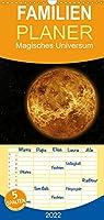 Magisches Universum - Familienplaner hoch (Wandkalender 2022 , 21 cm x 45 cm, hoch): Magische Fotokunst vom Universum (Monatskalender, 14 Seiten )