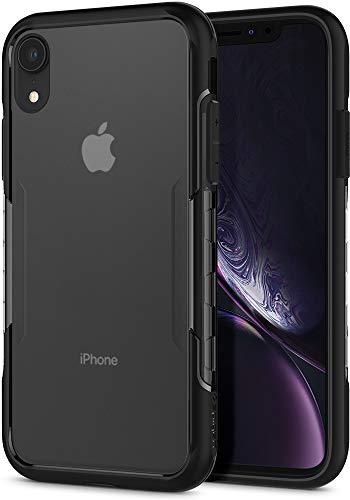 Spigen Lux Hybrid Hülle Kompatibel mit iPhone XR -Schwarz