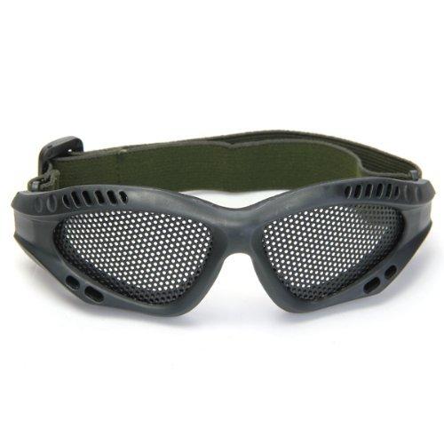 Dcolor Gafas Tacticas Rejilla Proteccion Ojos Militar Seguridad Supervivencia Negro