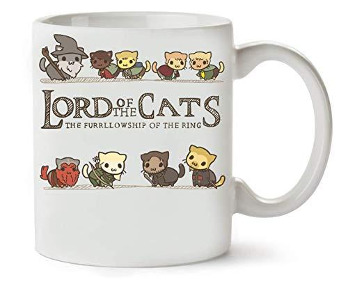 BakoIsland Lord Of The Cats The Furrlowship Of The Ring Classic Tea Coffee Mug