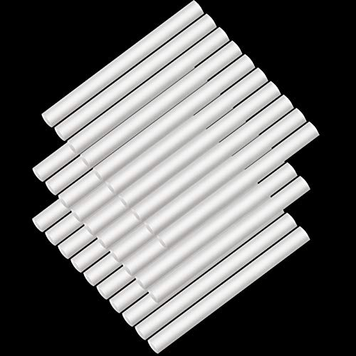 30 Stücke Auto Diffusor Schwamm Nachfüllung Stick Luftbefeuchter Filter Ersatz Docht Luftbefeuchter Stick Baumwolle Filter Diffusor Saugfähig Filter Stick für USB Angetrieben Luftbefeuchter