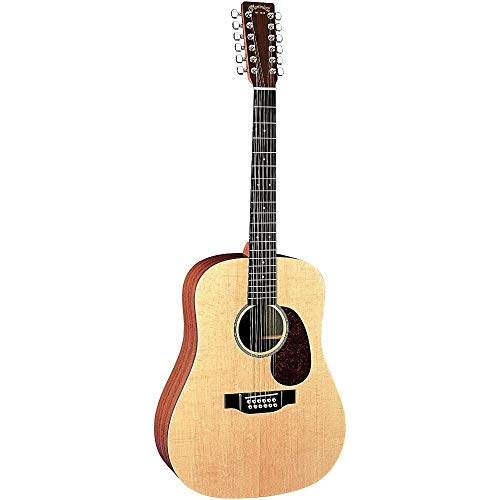Martin X Series D12X1AE Dreadnought 12-String Acoustic-Electric Guitar Natural