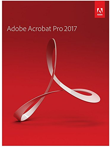 Adobe Acrobat Pro 2017 [PC Disc]