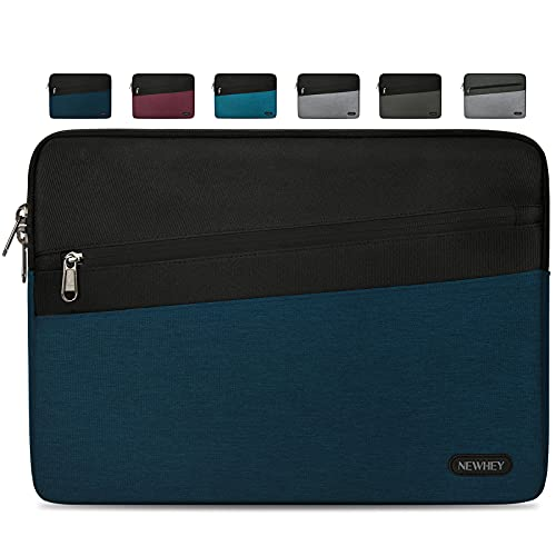 NEWHEY Funda Macbook Air 13 Pulgadas Impermeable Moda Funda Ordenador Blandas Laptop Protectora Prueba Golpes Compatible con Macbook Air / Pro 13-13.3 Pulgadas, HP, DELL, Lenovo Azul Oscuro