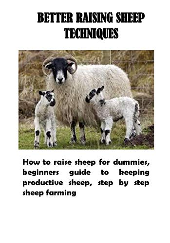 Better Raising Sheep Techniques: How to raise sheep for dummies, beginners guide to keeping productive sheep, step by step sheep farming (English Edition)
