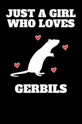 Funny Cute Mongolian Jird Gerbil Gerbils Notebook: 6x9 | 100 Pages | Lined Notebook | Gerbils are typically between 150 and 300 mm long, including the ... makes up about half of their total length.