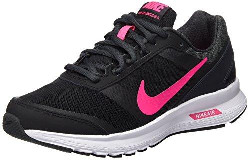 Nike Damen WMNS Air Relentless 5 Sneaker, Schwarz (Black/Hyper Pink Anthrct White), 36.5 EU