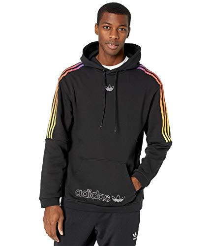 adidas Sport Foundation Sweat Pullover Hoodie Black/Multicolor LG