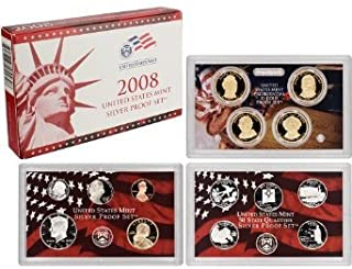 2008 united states mint silver proof set