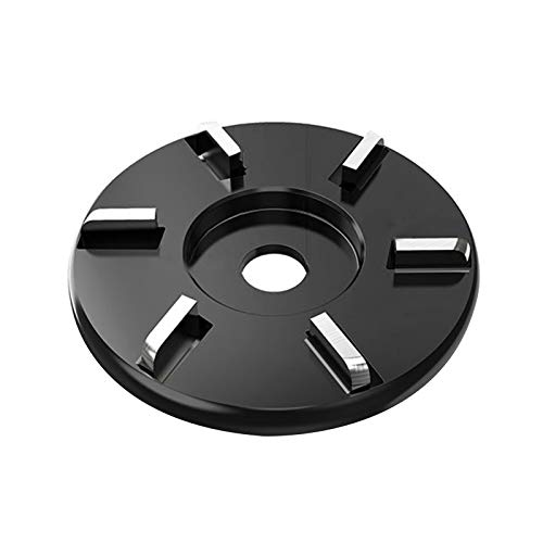 pengyus A Wear-resistant And Robust 6-tooth Metal Engraving Disc With Angle-tooth Blades For Angle Grinders Black