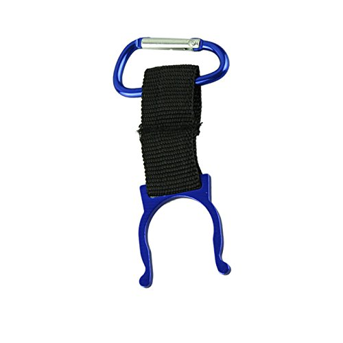 FEDULK Portable Carabiner Water Bottle Buckle Hook Holder Clip for Camping Hiking Traveling Outdoor Climbing