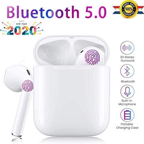 Bluetooth Kopfhörer In Ear Bluetooth Kopfhörer für Huawei Freebuds True Wireless Kopfhörer Touch Control Bluetooth 5.0 Sport Kopfhörer mit Eingebaut Mikrofon Wiederaufladbare Tasche für Huawei Android