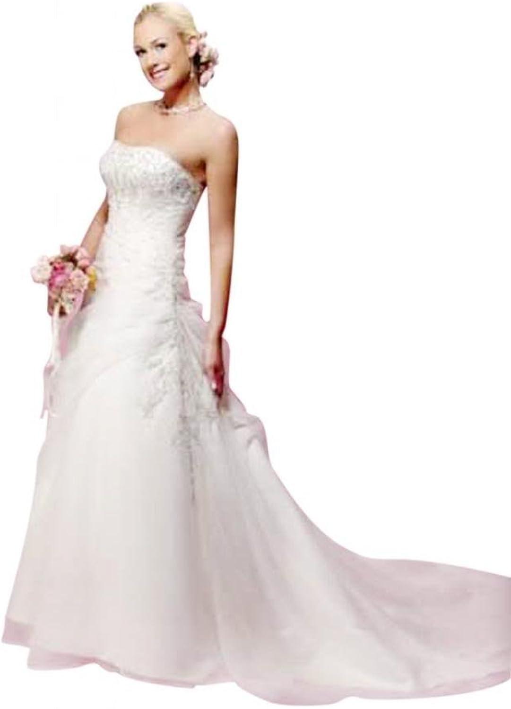 Passat White Corset Long Sleeve High Neck Wedding Dress