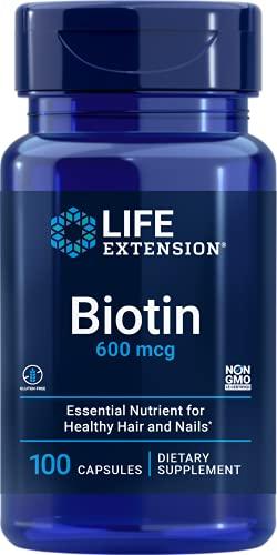 Biotin (100 CAPSULES) Life Extension
