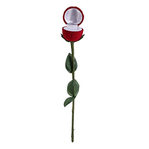Lilone Red Rose Ring Box, 21cm