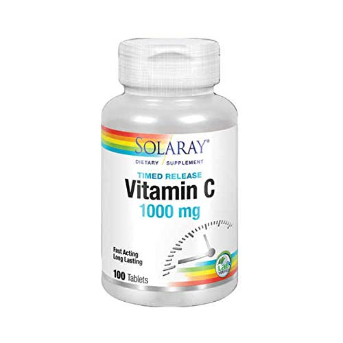 Solaray Vitamina C 1000 mg - 100 tabls.