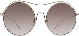 Calvin Klein Round Sunglasses For Women - Bronze Lens, Ck2161S-714, 140 mm