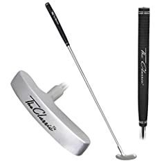 TIMELESS DESIGN: 2-way cast iron putter designed in the USA and made just like the sturdy and timeless putters of past generations for a true roll on putts ADULT SIZE: Traditional 35 inches shaft for mastering your short game skills - provides unlimi...