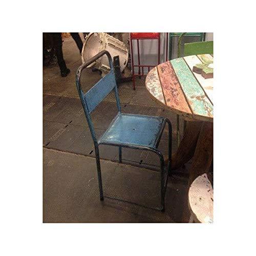 MATHI DESIGN Chaise en Metal Vintage