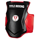 Title Boxing Fighting Fresh Body Protector, Black/Red