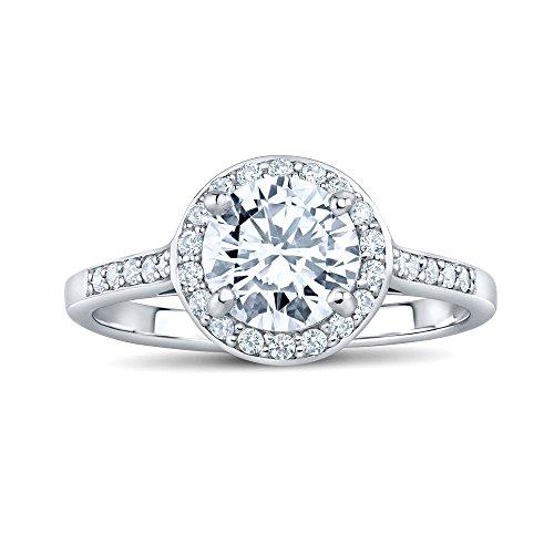 SILVEGO Damen Ring aus 925 Sterling Silber SKYE mit Swarovski® Zirconia