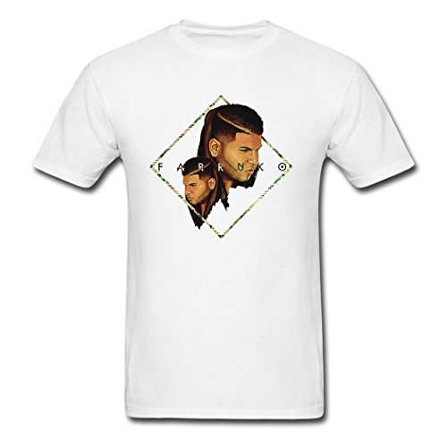 Comfortable Clearance Sales Farruko Logo Poster Male T-Shirts Medium