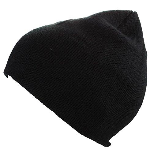 Bonnet Homme d'hiver Basic en Noir Urban Style
