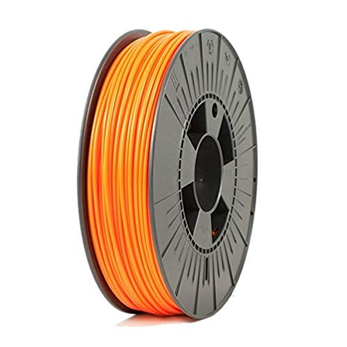 ICE Filaments ICEFIL3PLA129 filamento PLA,2.85mm, 0.75 kg, Obstinate Orange
