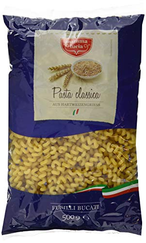 mamma lucia Pasta Fusilli Bucati corte, 20er Pack (20 x 500 g)