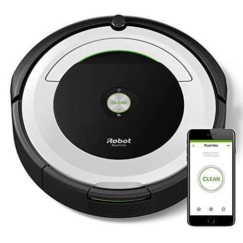 iRobot Roomba 691, Aspirateur Robot pour Tapis et Sols Durs, Capteurs de Poussière Dirt Detect, Système de Nettoyage en 3 Étapes, Connecté en WiFi et Programmable via Application