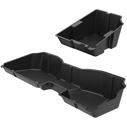 Mejor ECOTRIC GM Underseat Storage Box for 2007-2018 Chevy Silverado or GMC Sierra Crew CAB Compartment in Black New crítica 2020