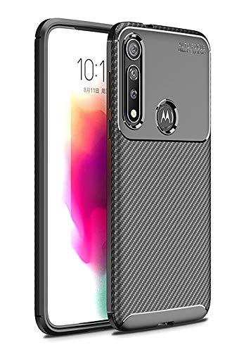 Hülle Collection Carbonfaser Design Hülle für Motorola Moto G8 Plus Hülle (6,3
