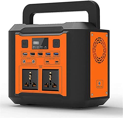 EWYI Centrale Elettrica Portatile Centrale Elettrica 300W 80000mAh Uscita Multipla AC/DC/USB/Tipo C Backup Batteria di Emergenza Facile da Trasportare