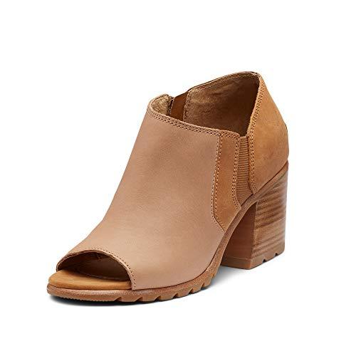 Sorel Nadia Ankle Bootie Honest Beige 10.5